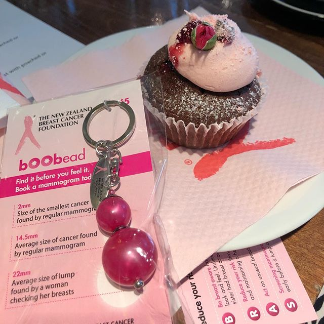 Attended the @stephaniemurray_mortgages Pink Ribbon 🎀 breakfast today - had a fab time meeting a bunch of wonderful women & learning more about breast cancer & the things to look out for. This key ring was quite amazing - showing how small a cancer can be picked up by a mammogram vs average size of what you might find during a self check - a good reminder to get your mammogram! #business #womeninbusiness #pinkribbon #breastcancerawareness #mammogram