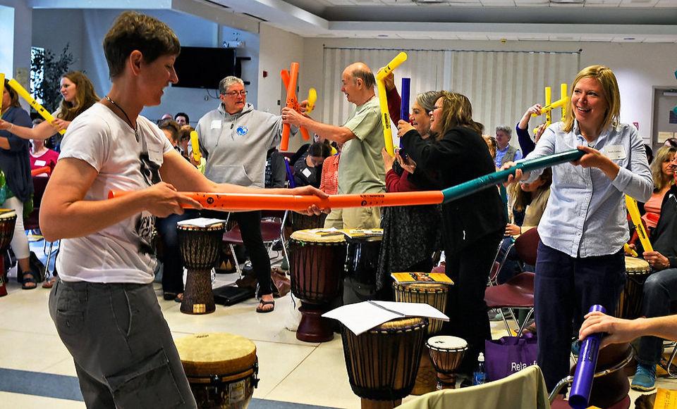 Jim Donovan Drumming and Autism training.JPG