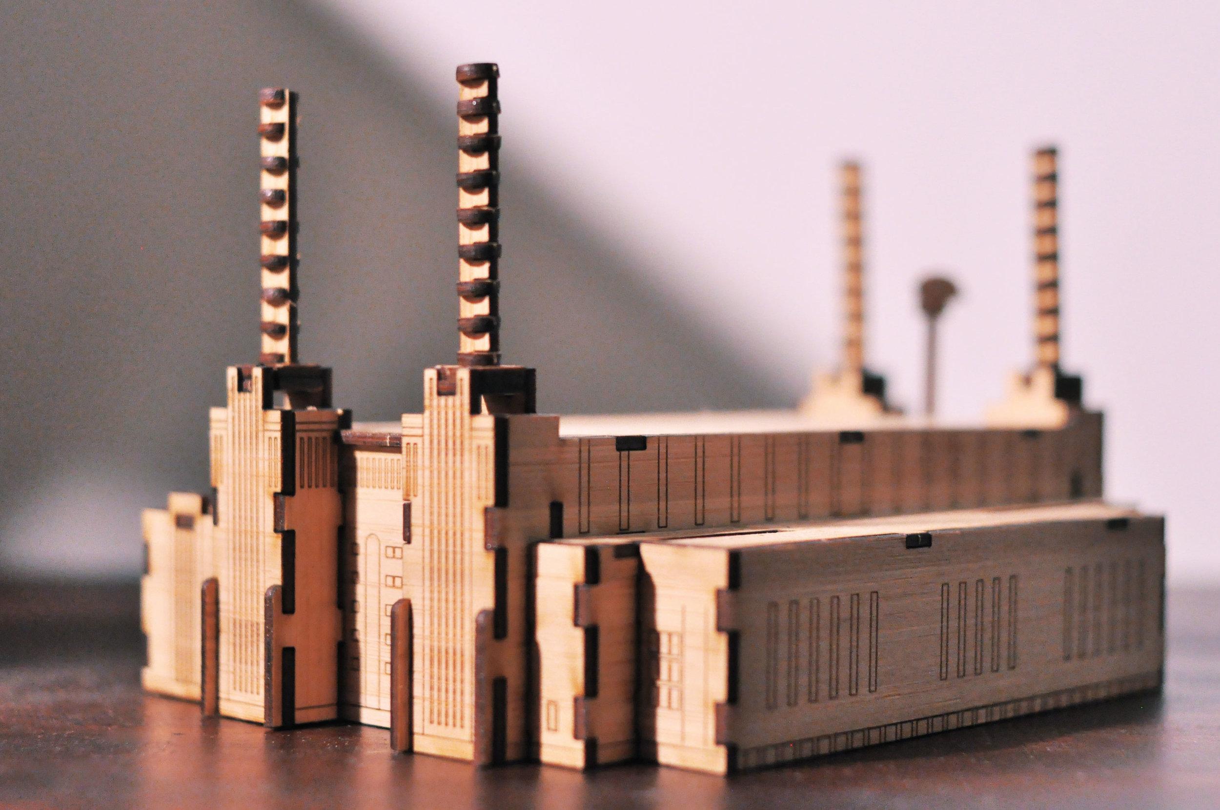 BATTERSEA POWER STATIONLONDON. 1933/1953 -