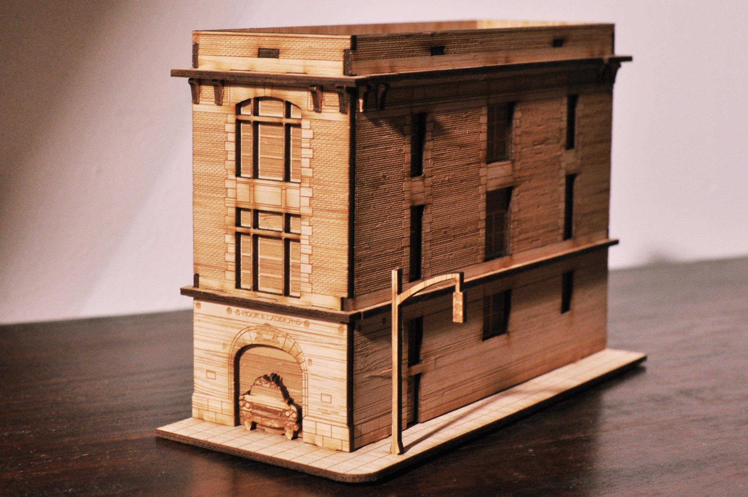 Ghostbusters HQ Model Kit