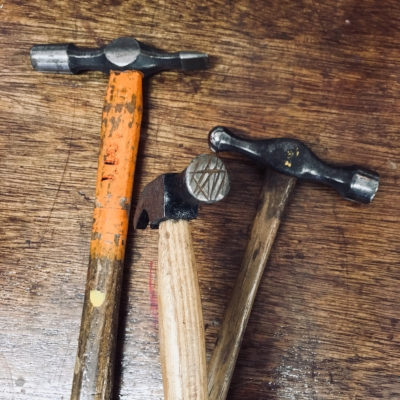My Hand Modified 'Texturing' Hammers.