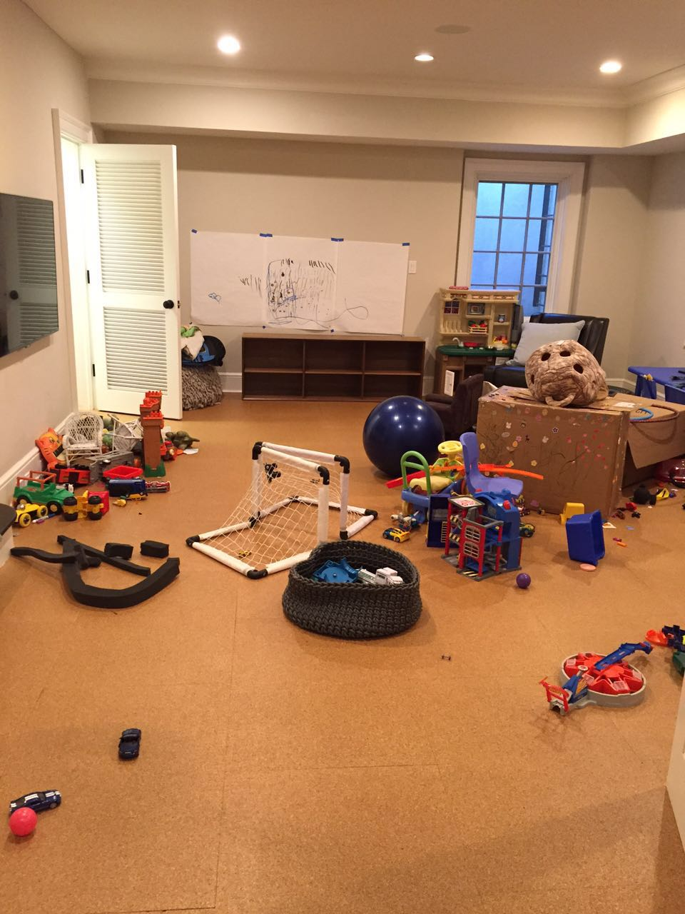 Play room - before