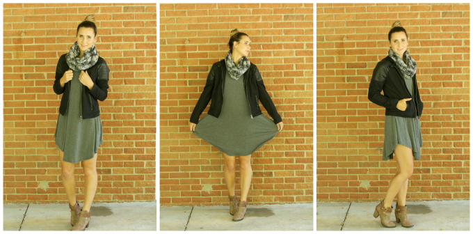 Jacket -   Marshalls (Similar)   // Scarf -   Kohls (Similar)   // Booties -   Target Clearance (Similar)