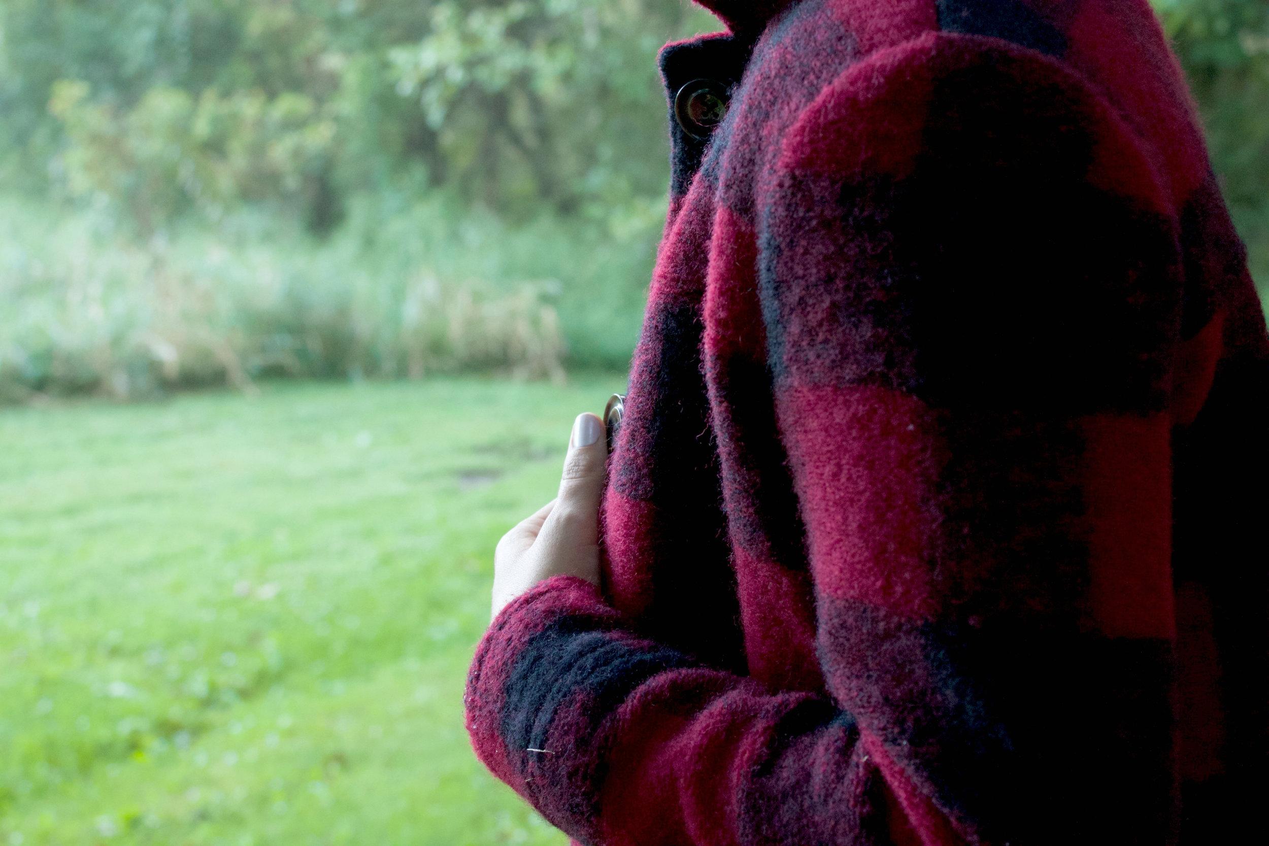 Buffalo Plaid Wool Jacket - Forever 21