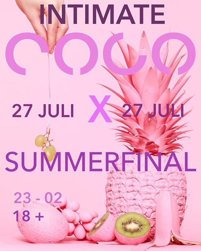 INTIMATE COCO PÅ LÖRDAG🥂 NYTT KONCEPT  One more time💘 På lördag öppnar vi upp våra rosa dörrar en sista gång för i sommar med ett nytt koncept.  Intimate Coco - Vi kommer att öppna en mindre del av nattklubben med dj och sjukt gott häng! Kom och fira en bra sommar nu på lördag!  100 kr förköp via länk i bio🦅💘🕺🏻