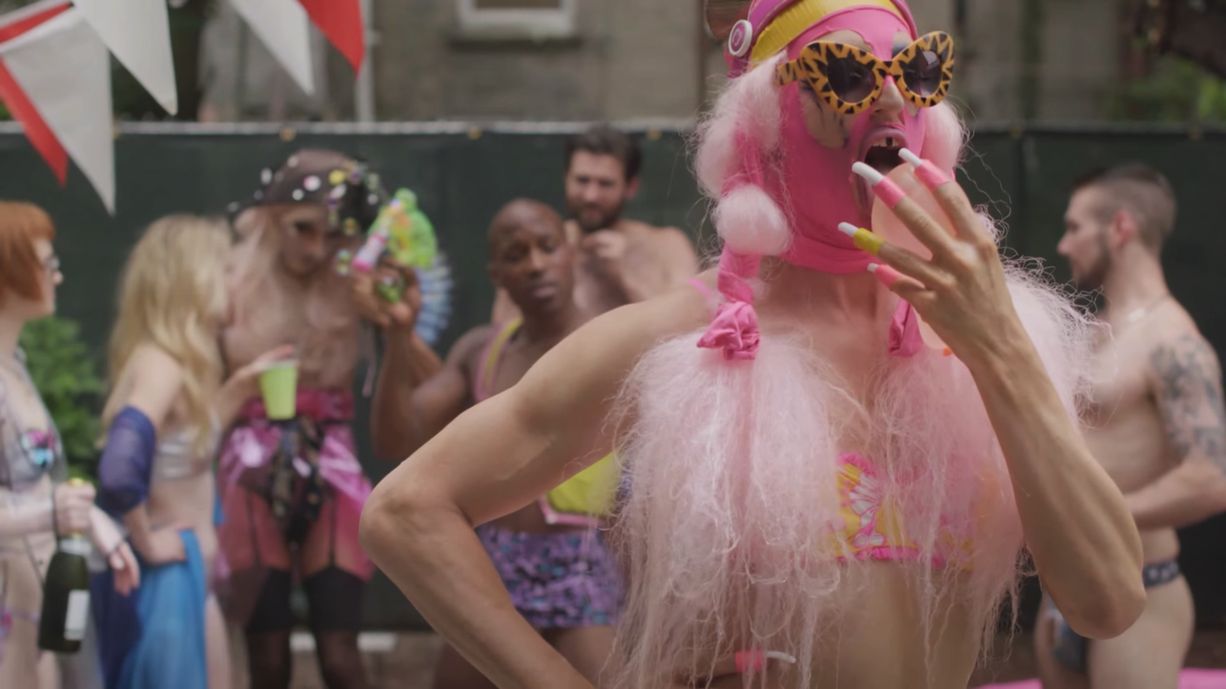 """'VIBIN REMIX"" by Big Dipper - music video"
