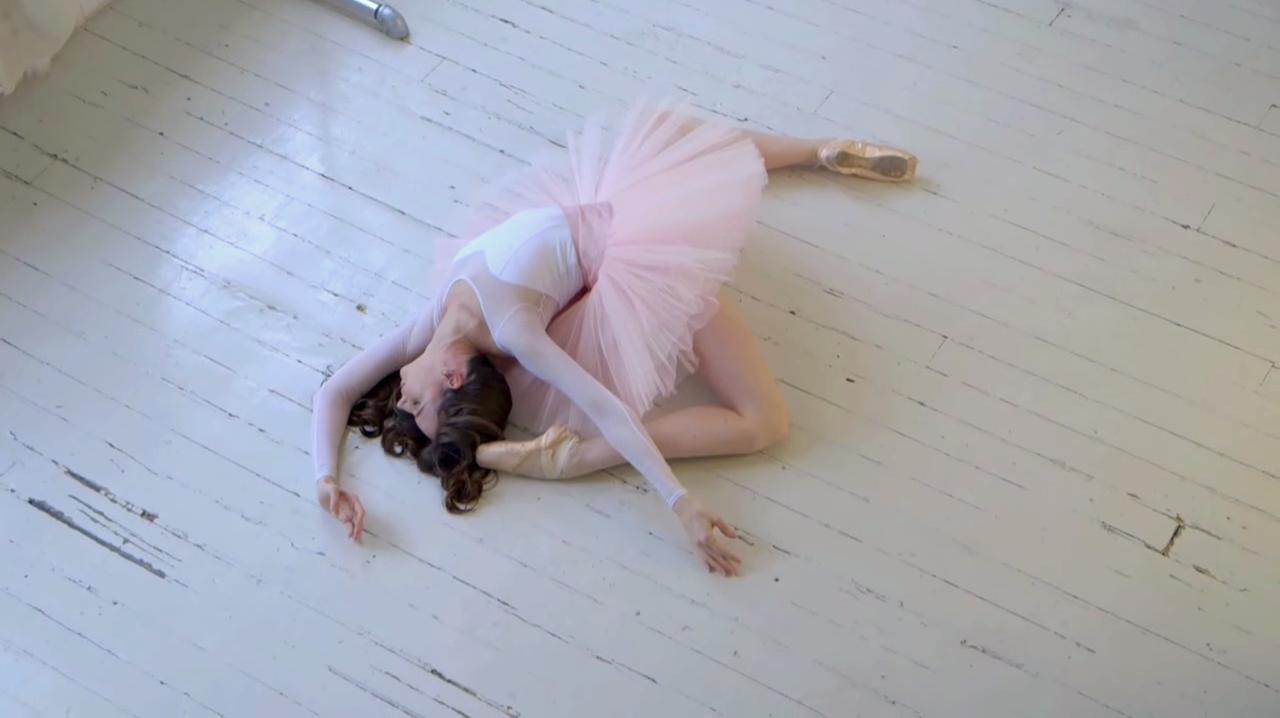 White Sweetheart Leotard - Ballet Beautiful