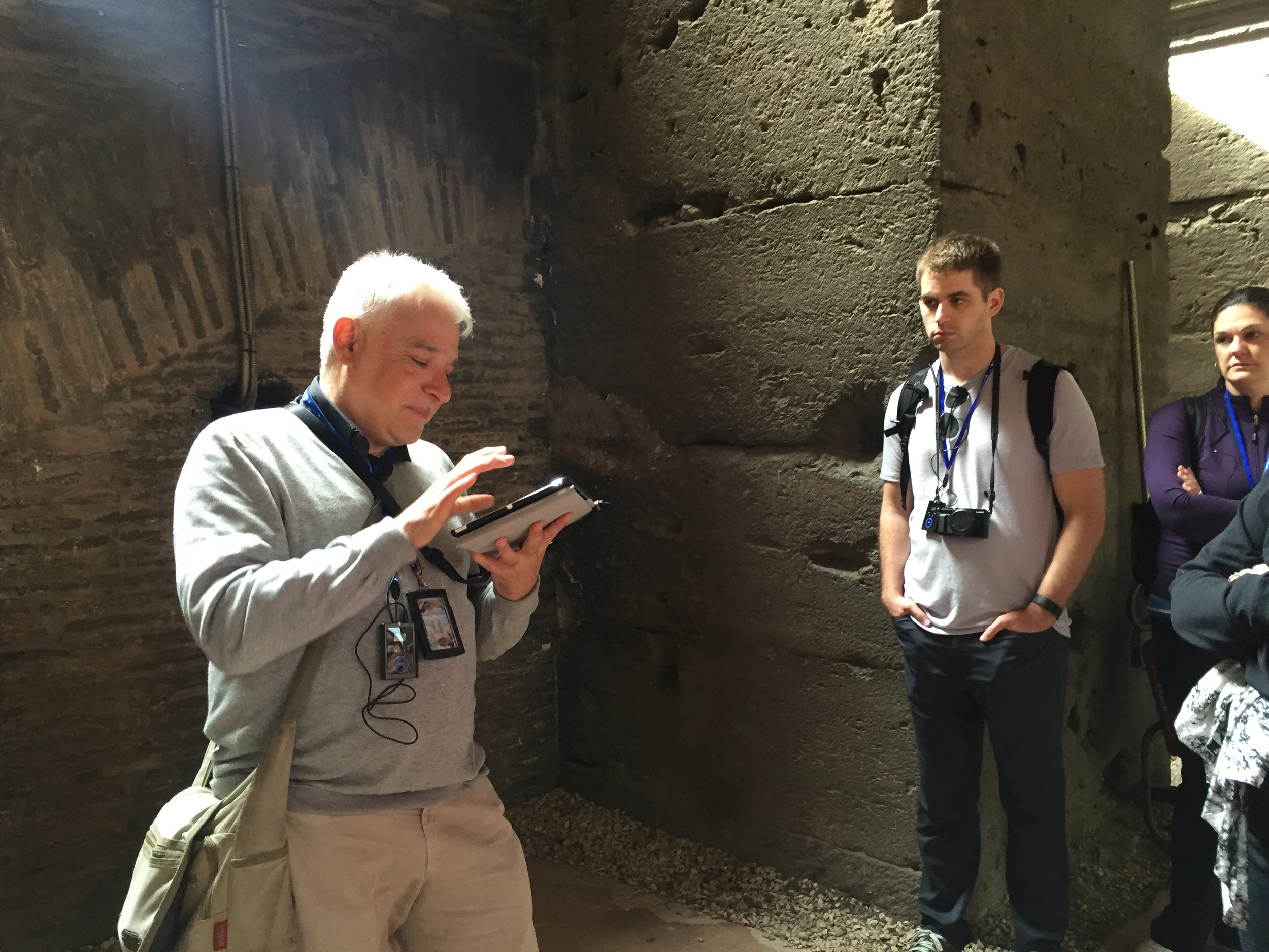 This was our dude, Guido the Guide. He had such wonderful personality and  made  our trip to the Colosseum complete. We have no affiliation with Walks of Italy, but would highly recommend their  Colosseum tour .