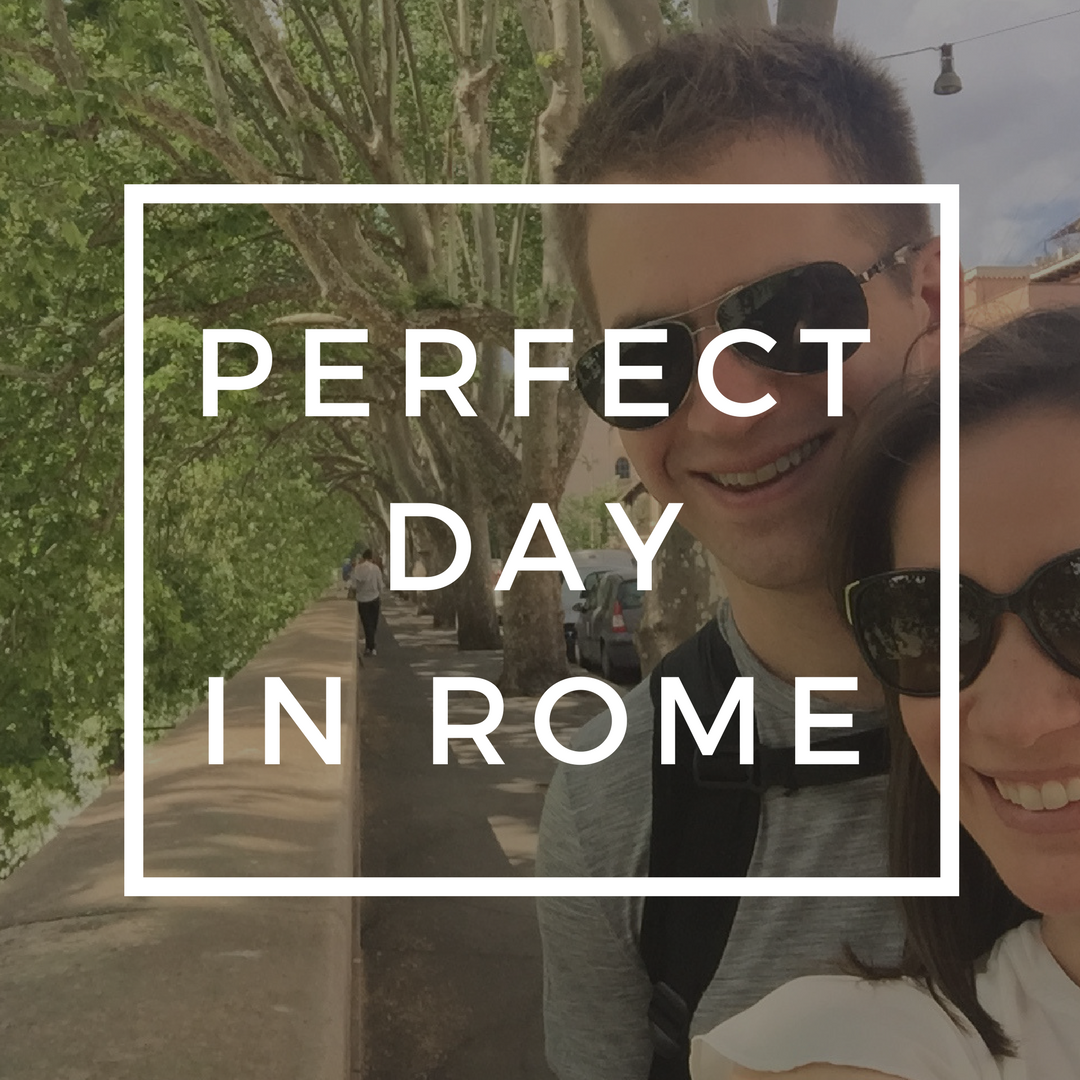 perfect day in rome