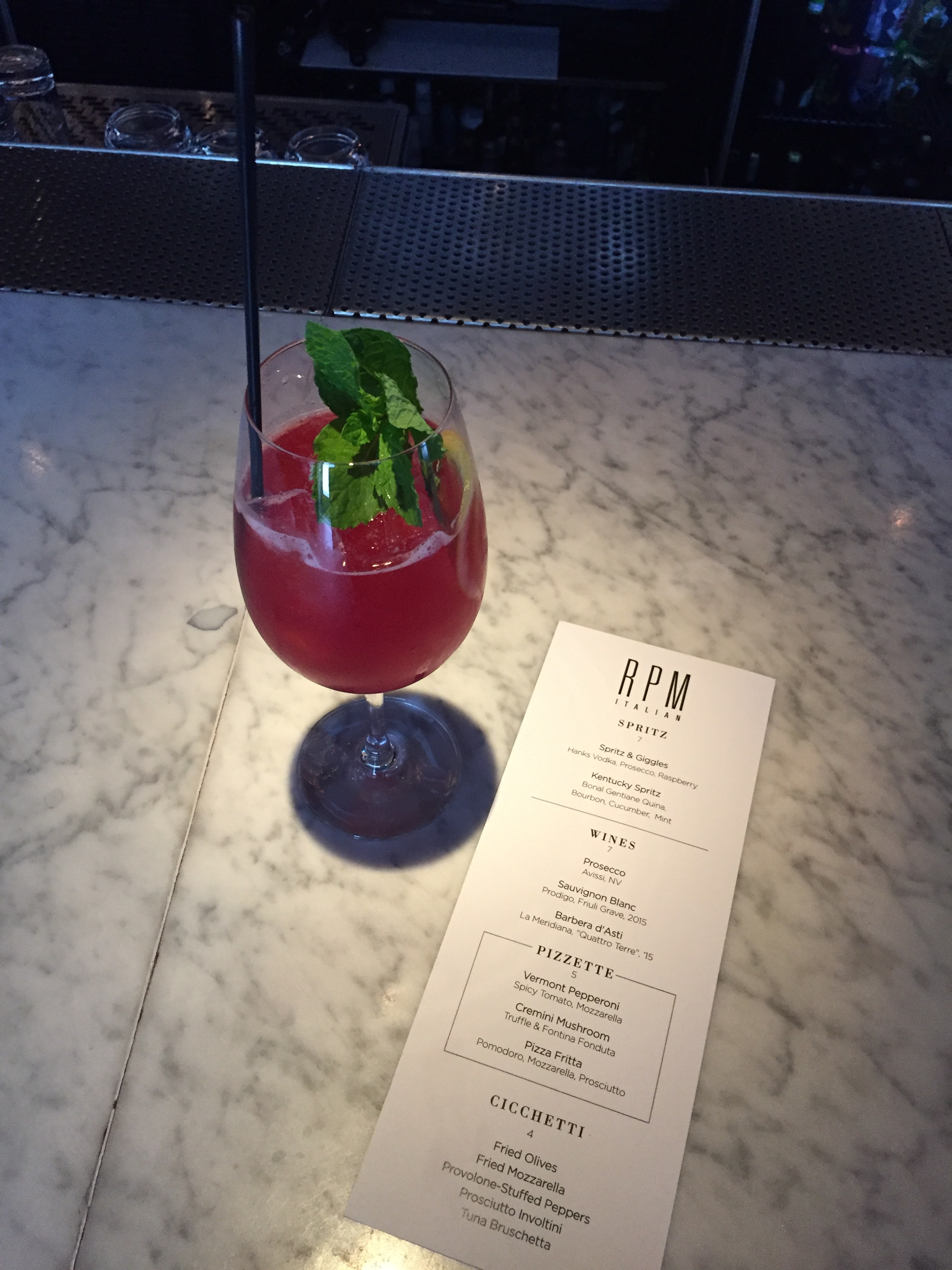 RPM Cocktails