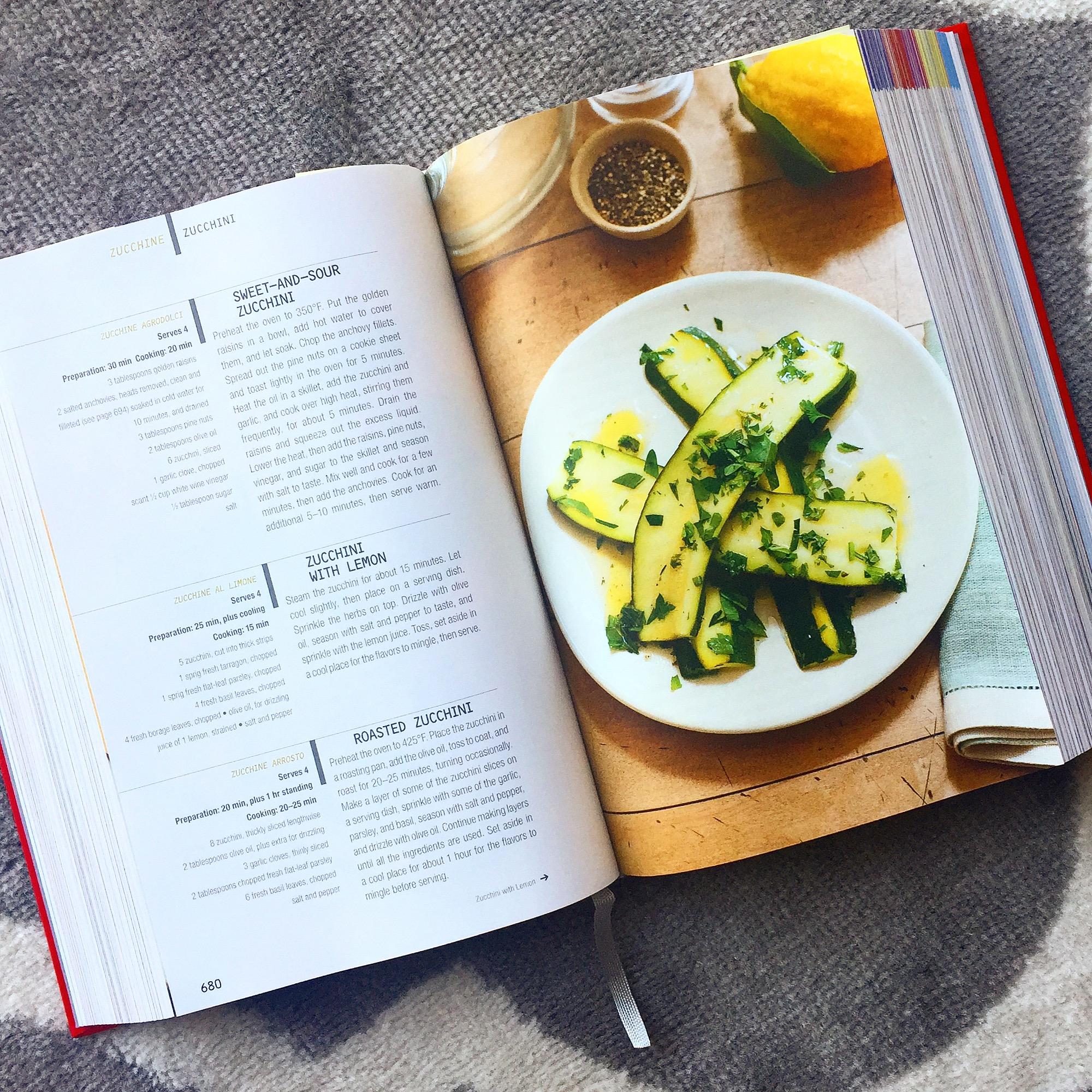 Silver Spoon Zucchini Recipe
