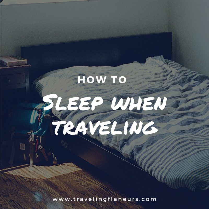 how to sleep when traveling