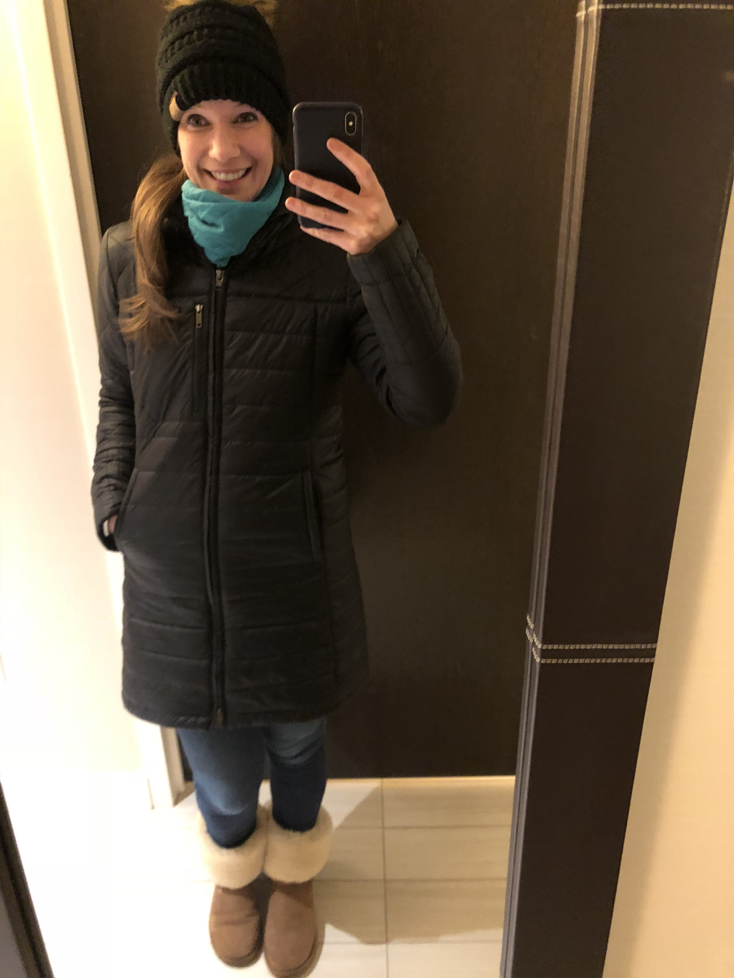 cold day in new york city
