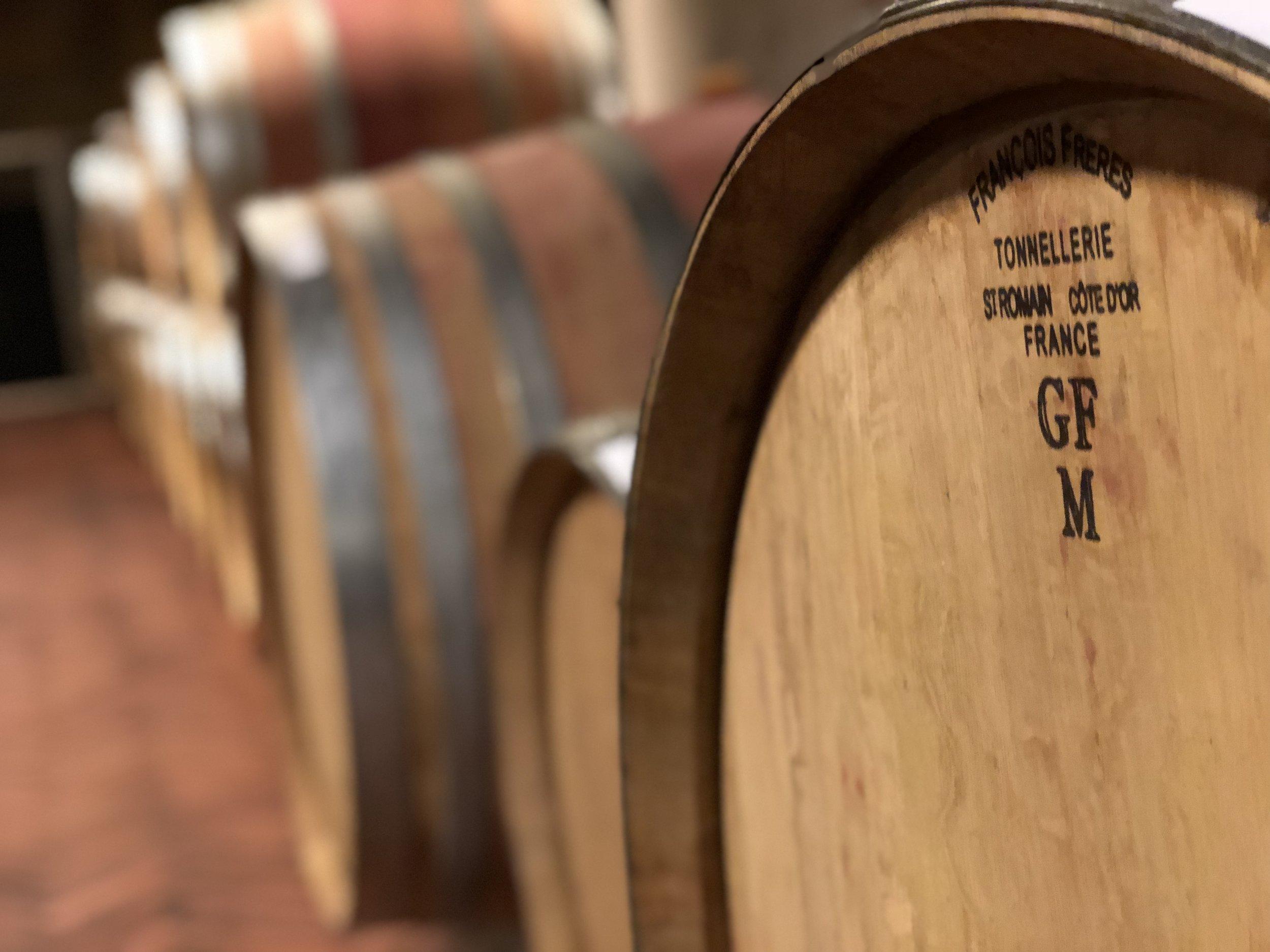 Corzano e Paterno oak barrels