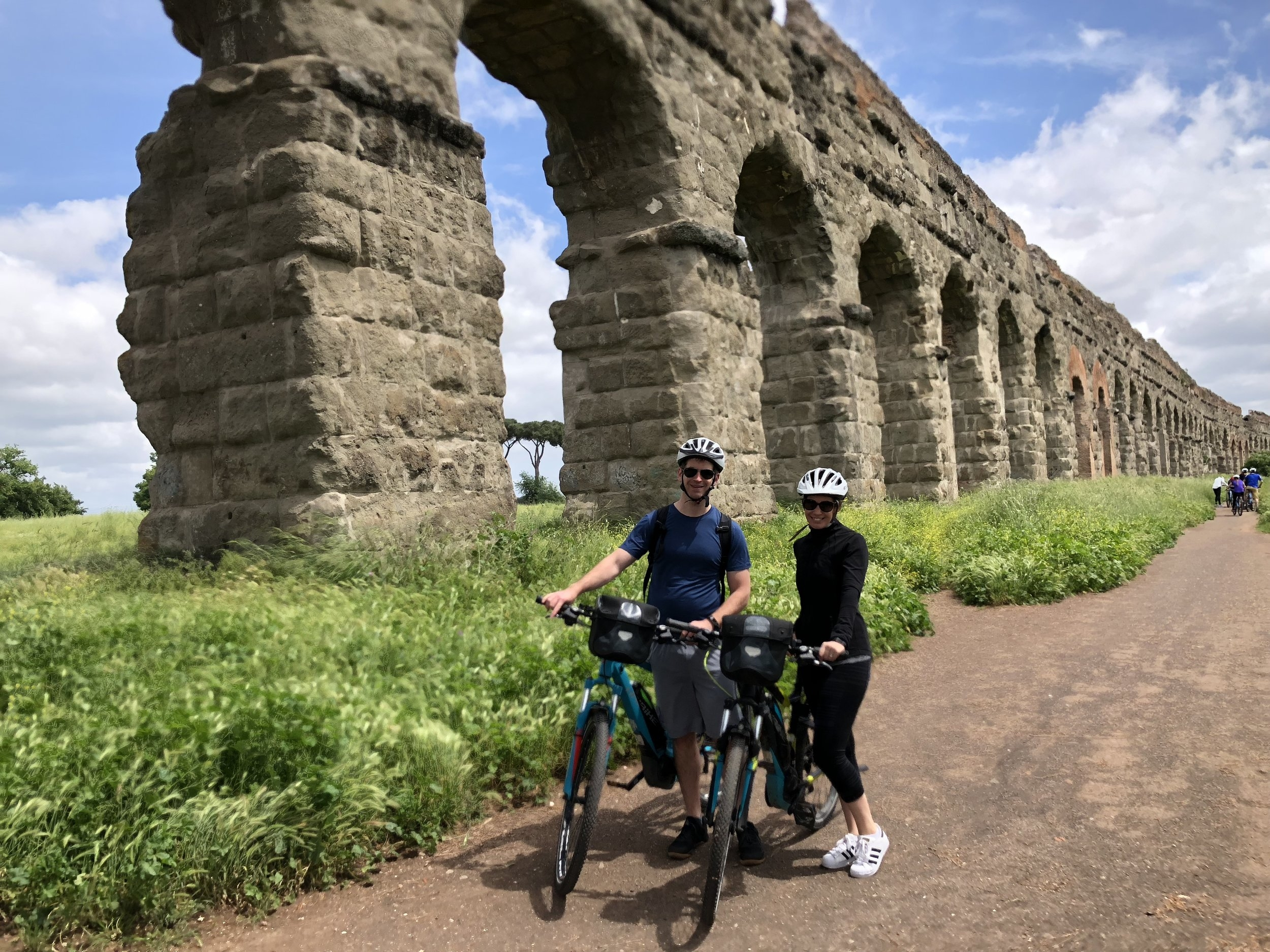 A ride along the Roman Aqueducts on a warm May day.