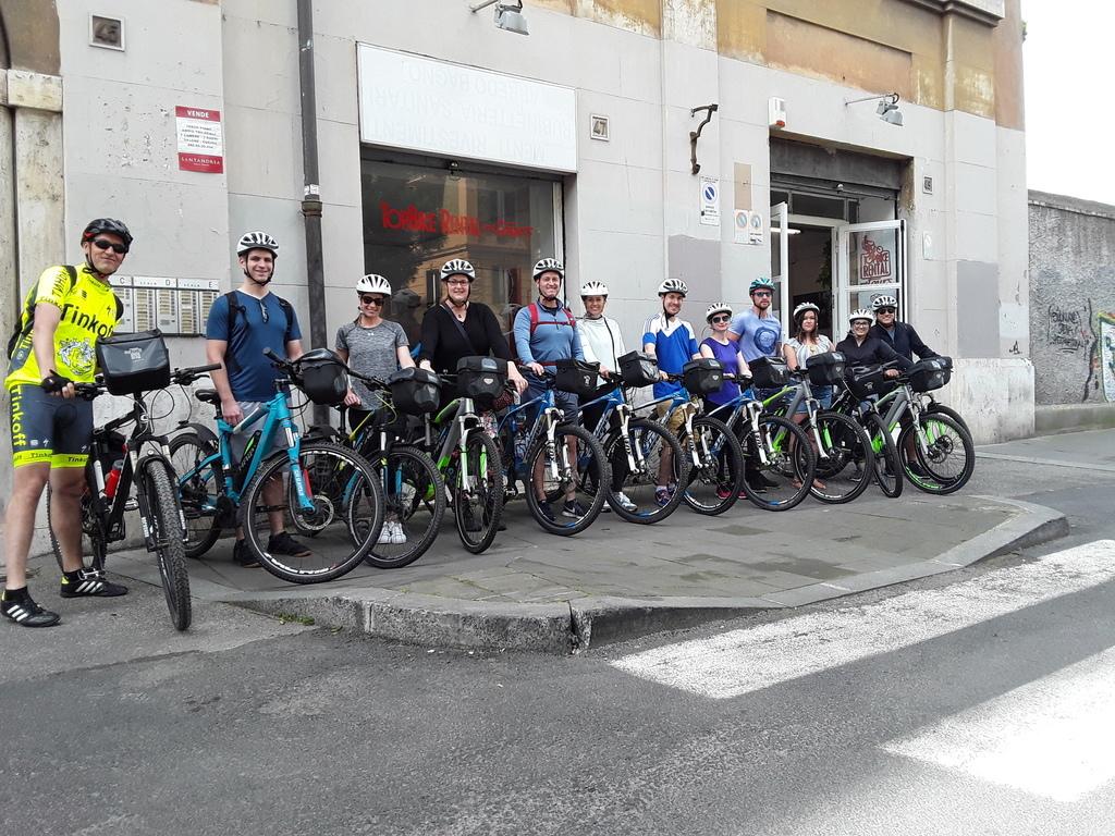 Our bike tour group.