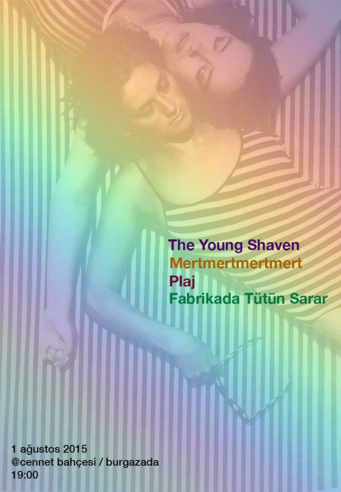 The Young Shaven @ Cennet Bahçesi Poster
