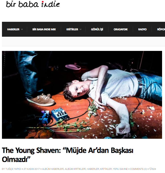 The Young Shaven Müjde Ar'dan Başkası Olmazdı - Bir Baba Indie.png