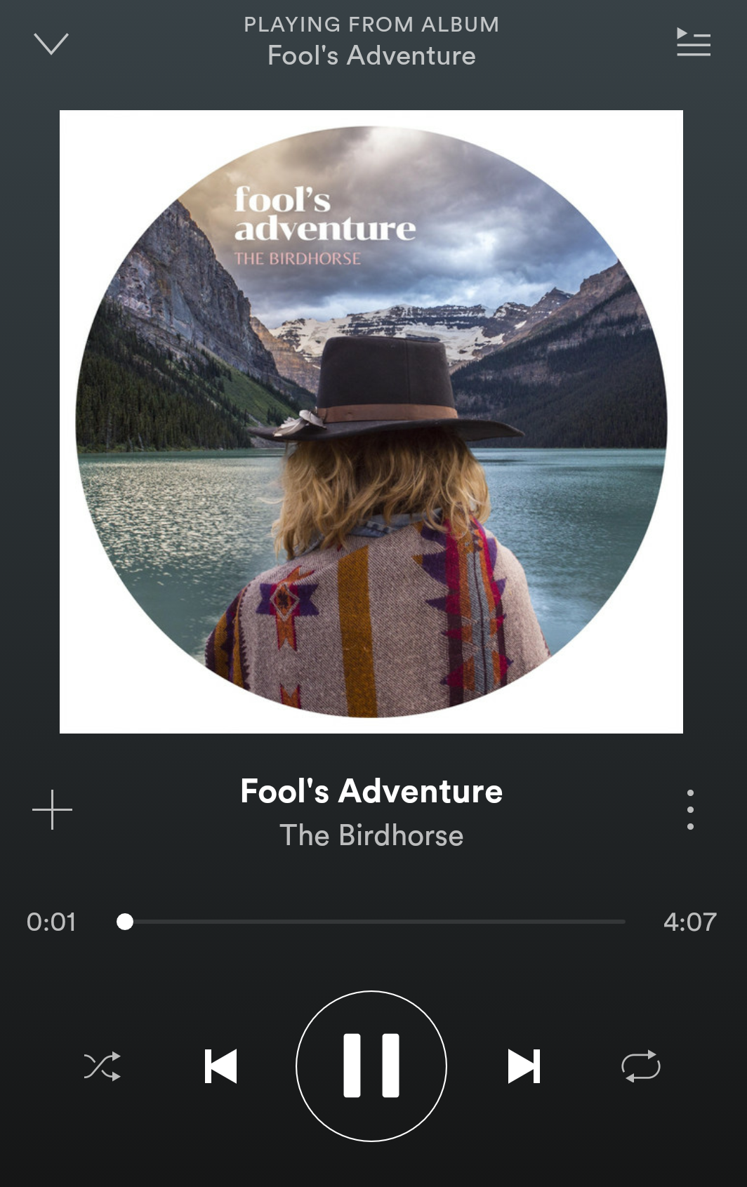 Click to Listen to fool's Adventure on Spotify