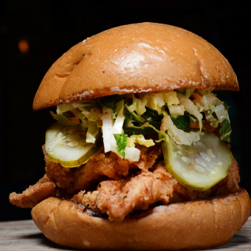 OMG Gus's Fried Chicken Sandwich YUM!!! A must have for sure!
