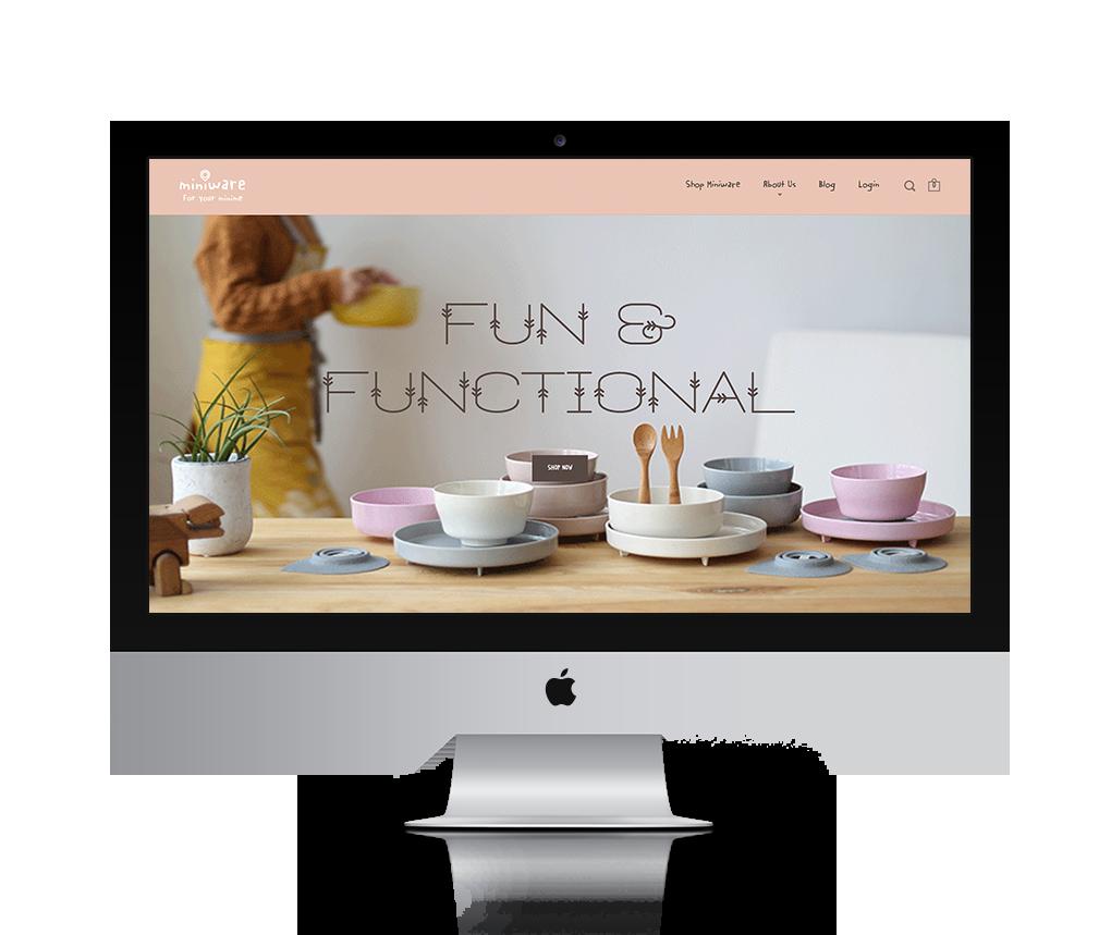 Miniware | Eco-Chic Kids Tableware