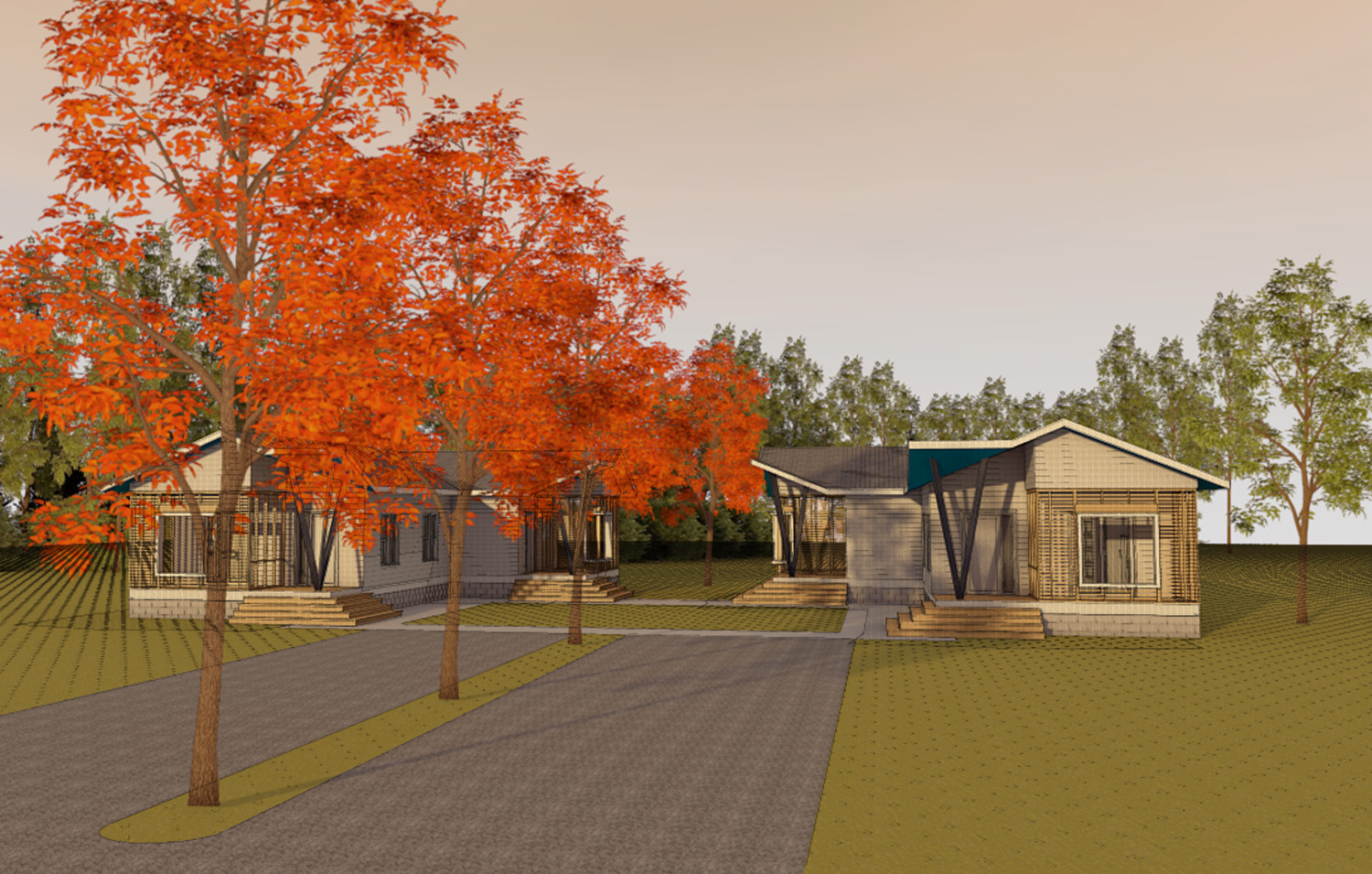 chambliss home rendering