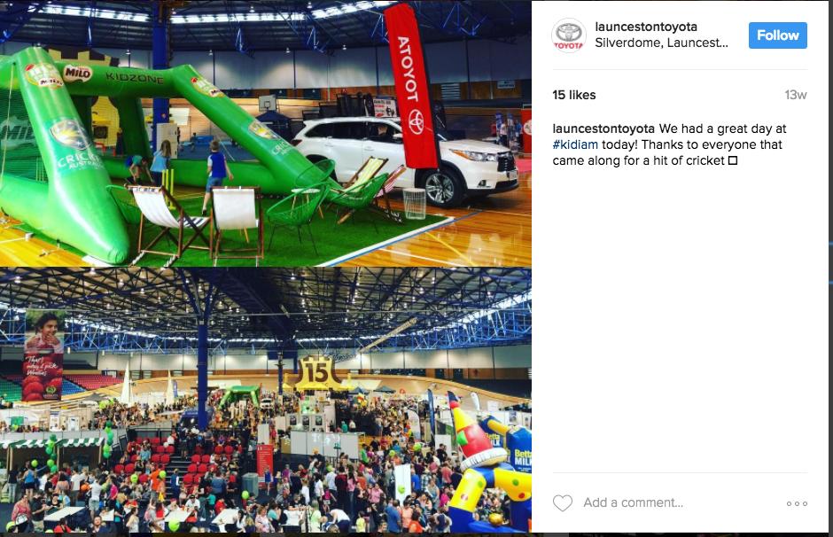 Instagram post - Toyota