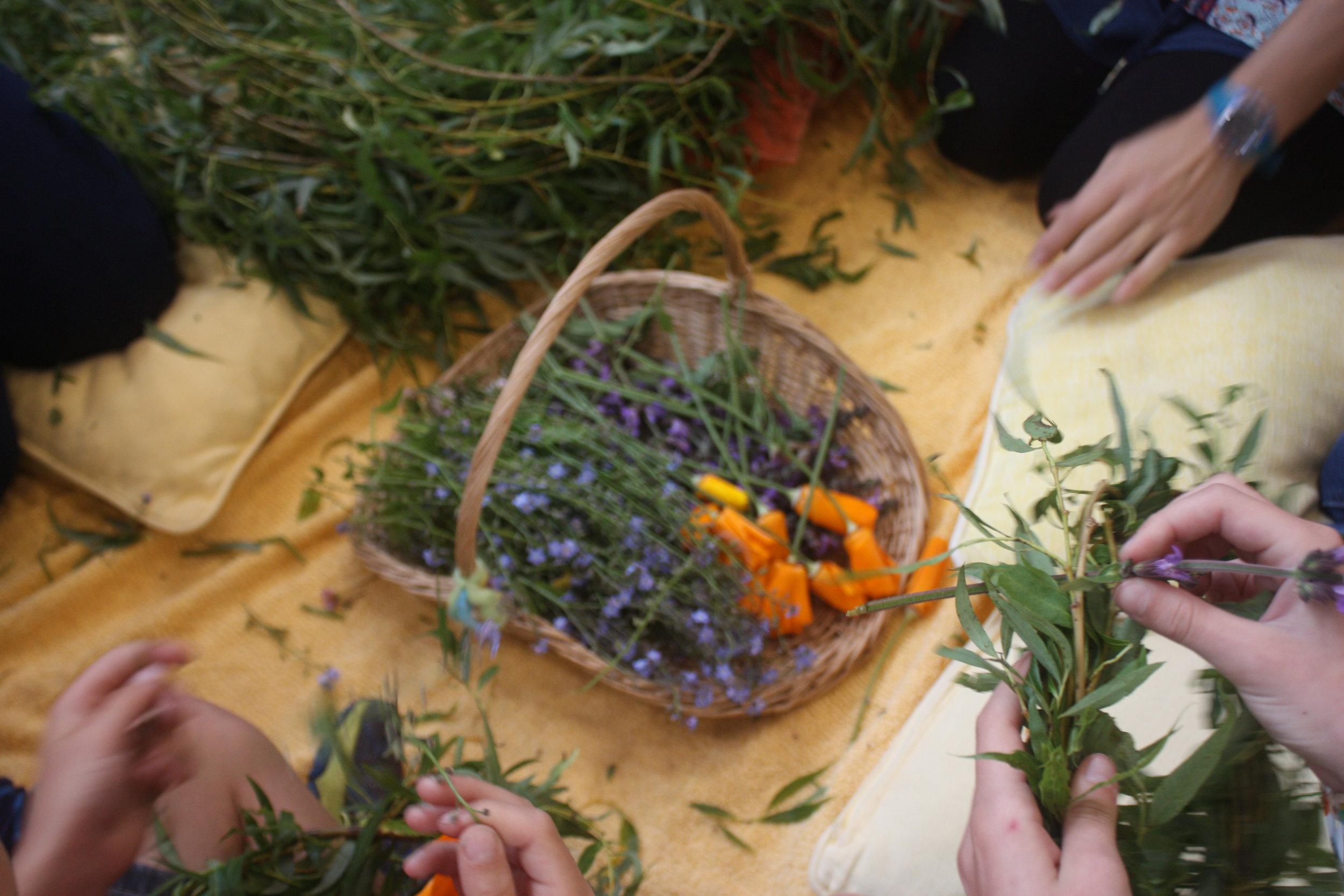 Steiner School craft activity