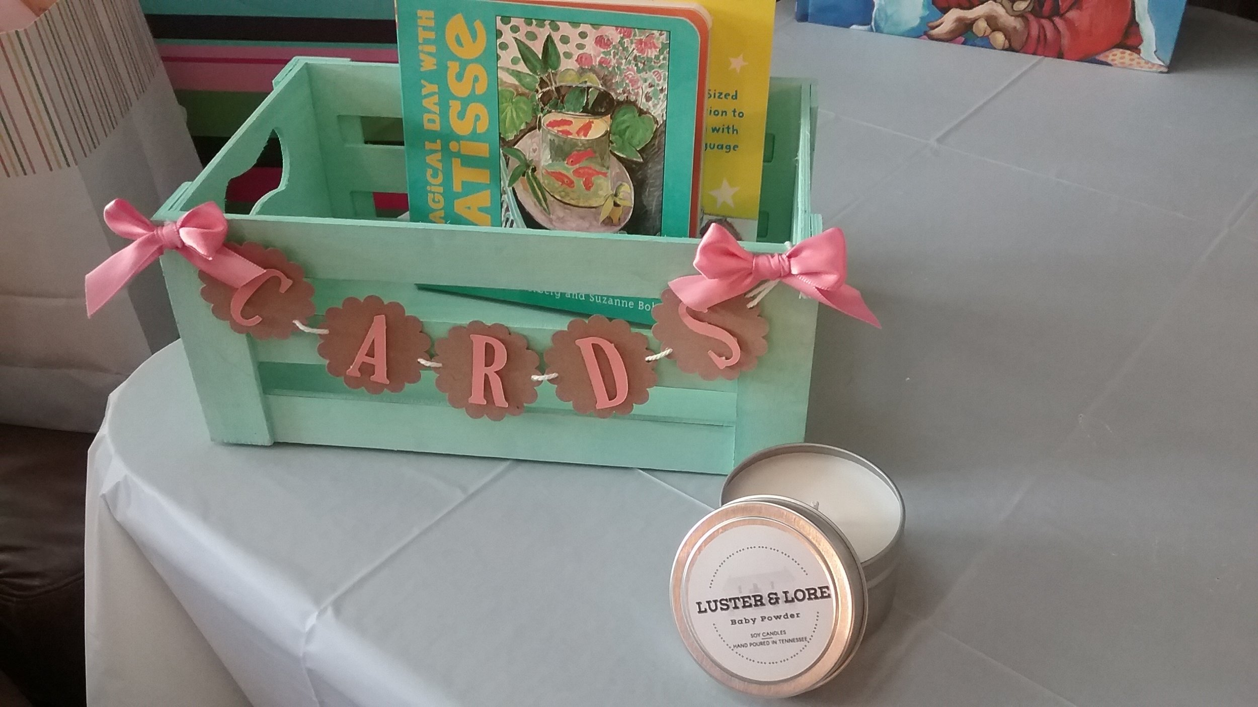From wedding favors to baby shower gifts to memorial candles, we can create what you need.