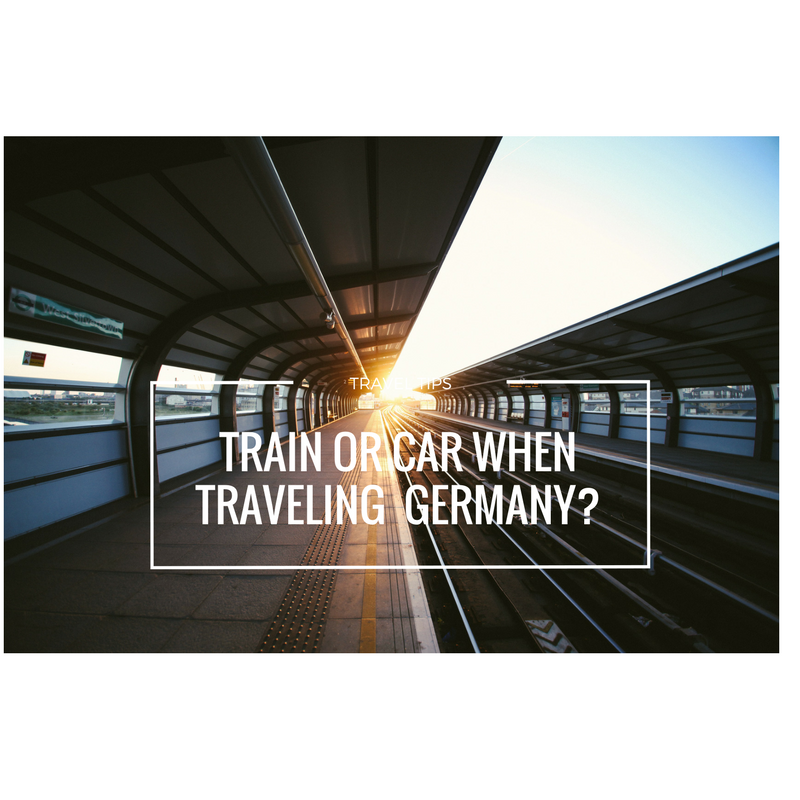 Train or Car When Traveling Germany