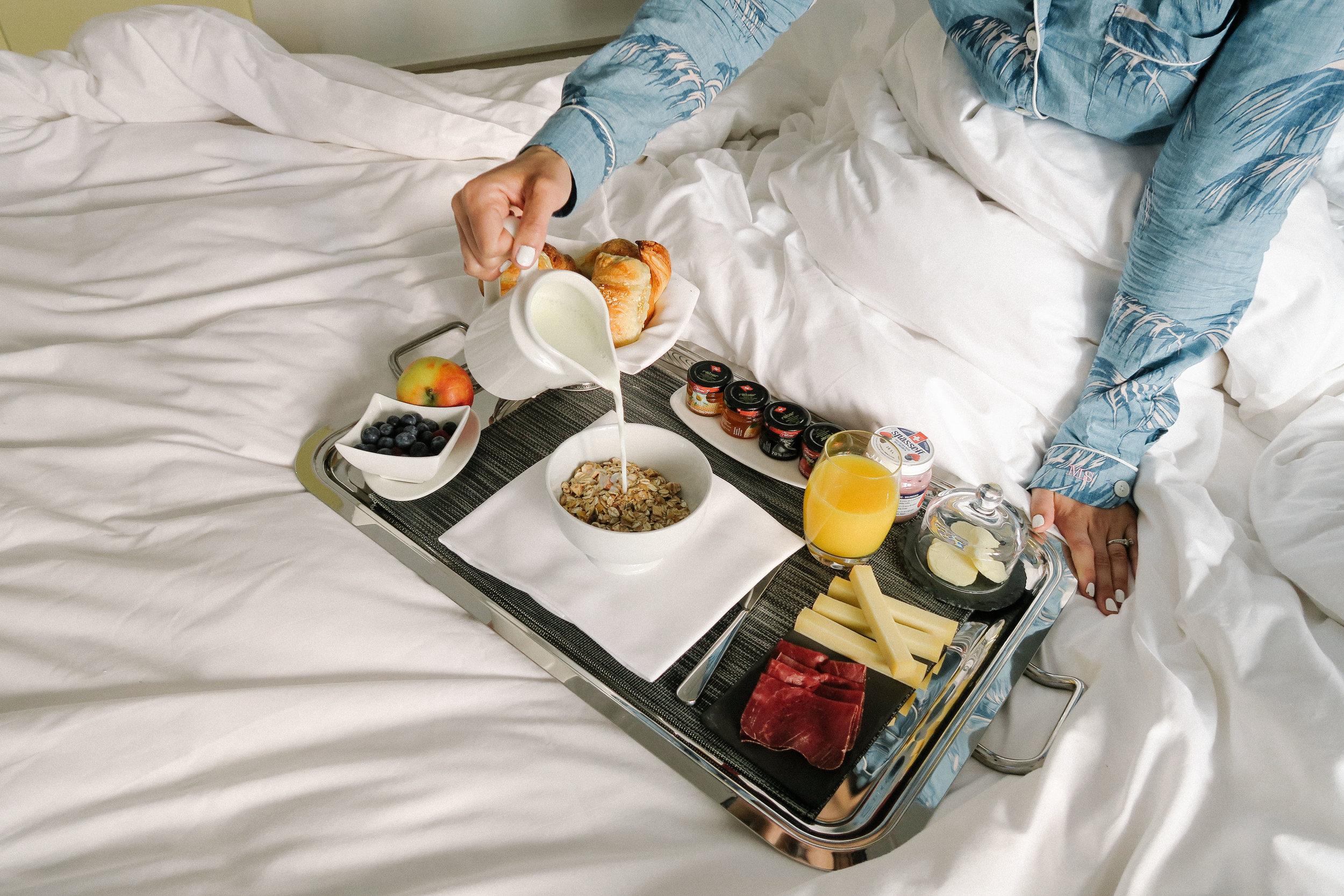 Swiss Luxury Apartments Breakfast