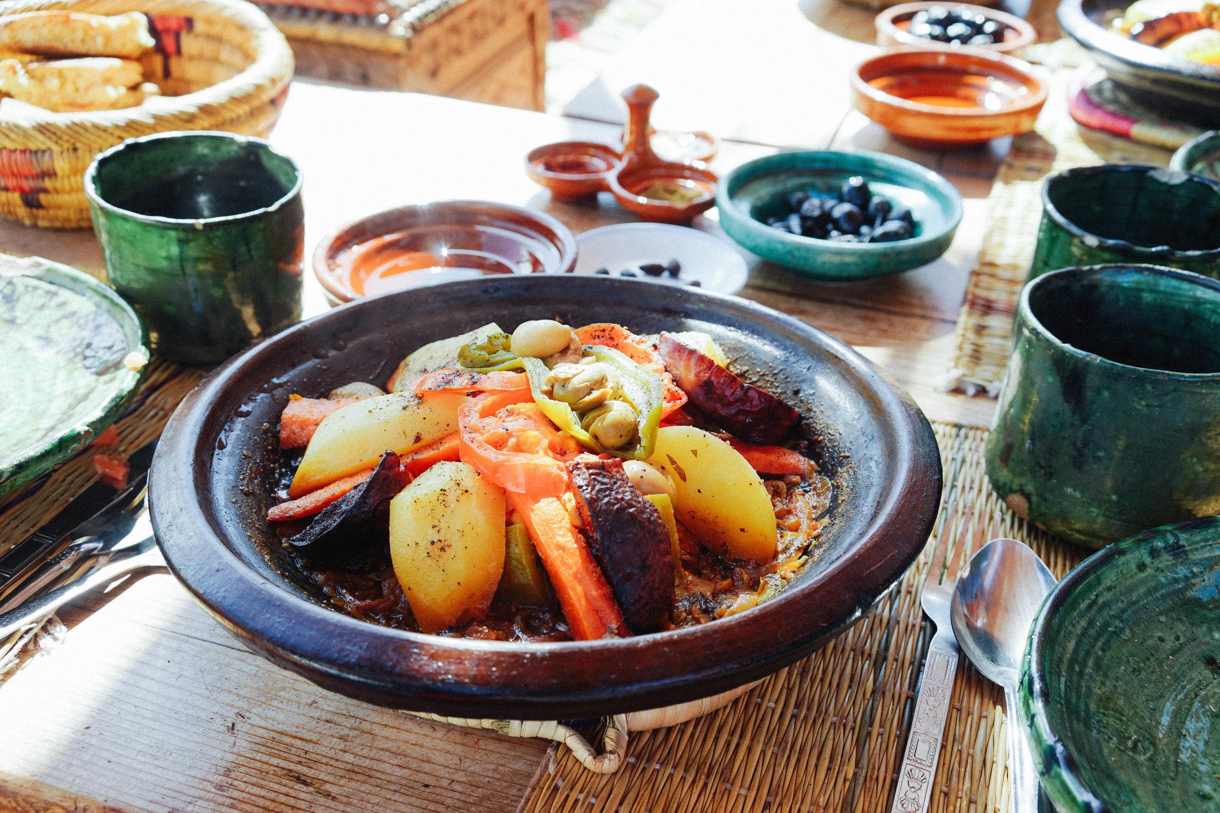 Berber Family Lunch