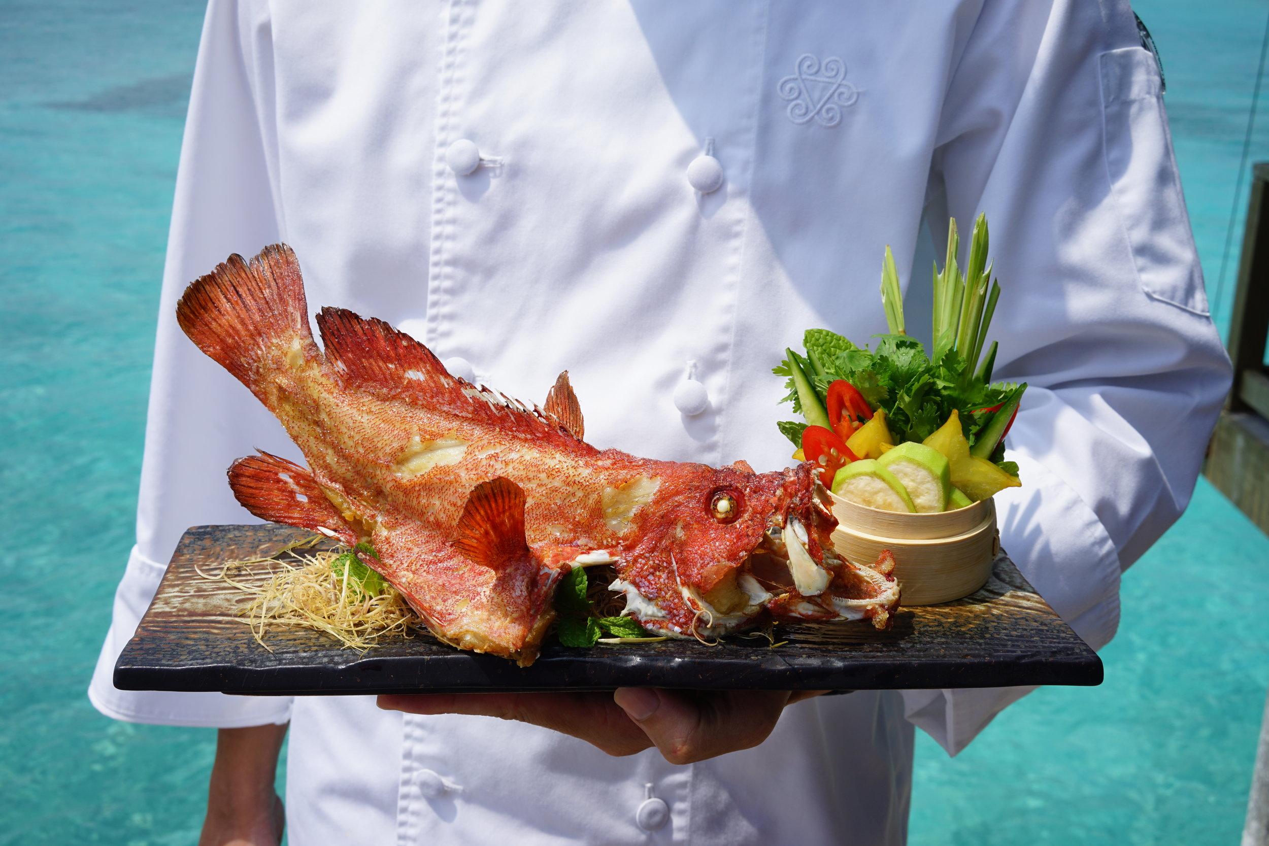 Vakkaru Maldives Food