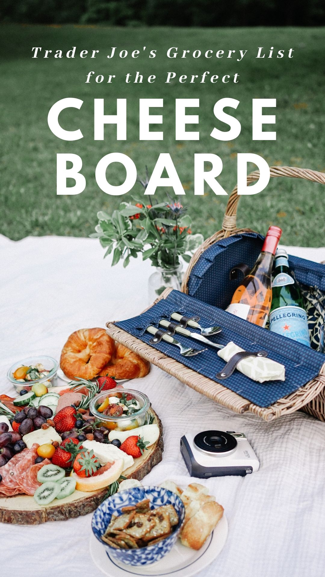 Grocery List for Cheese Board Trader Joes