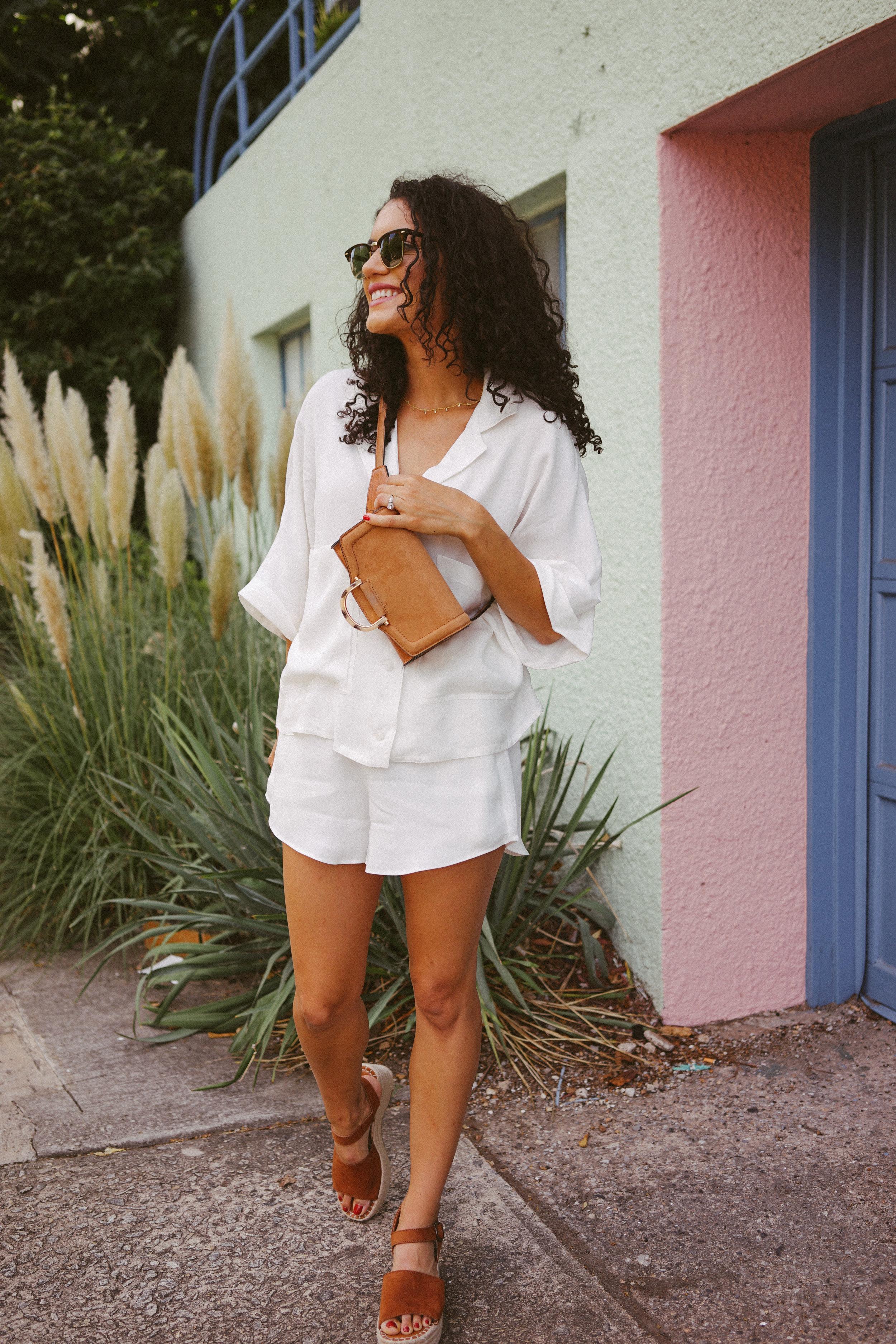 summer white set