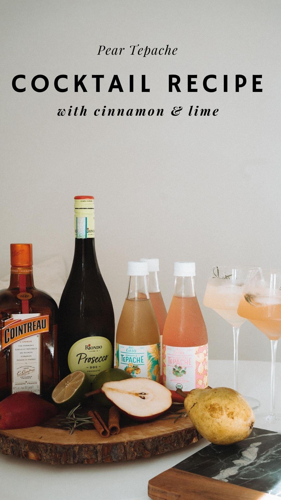 Tepache Prosecco Cocktail Recipe Monetsommers