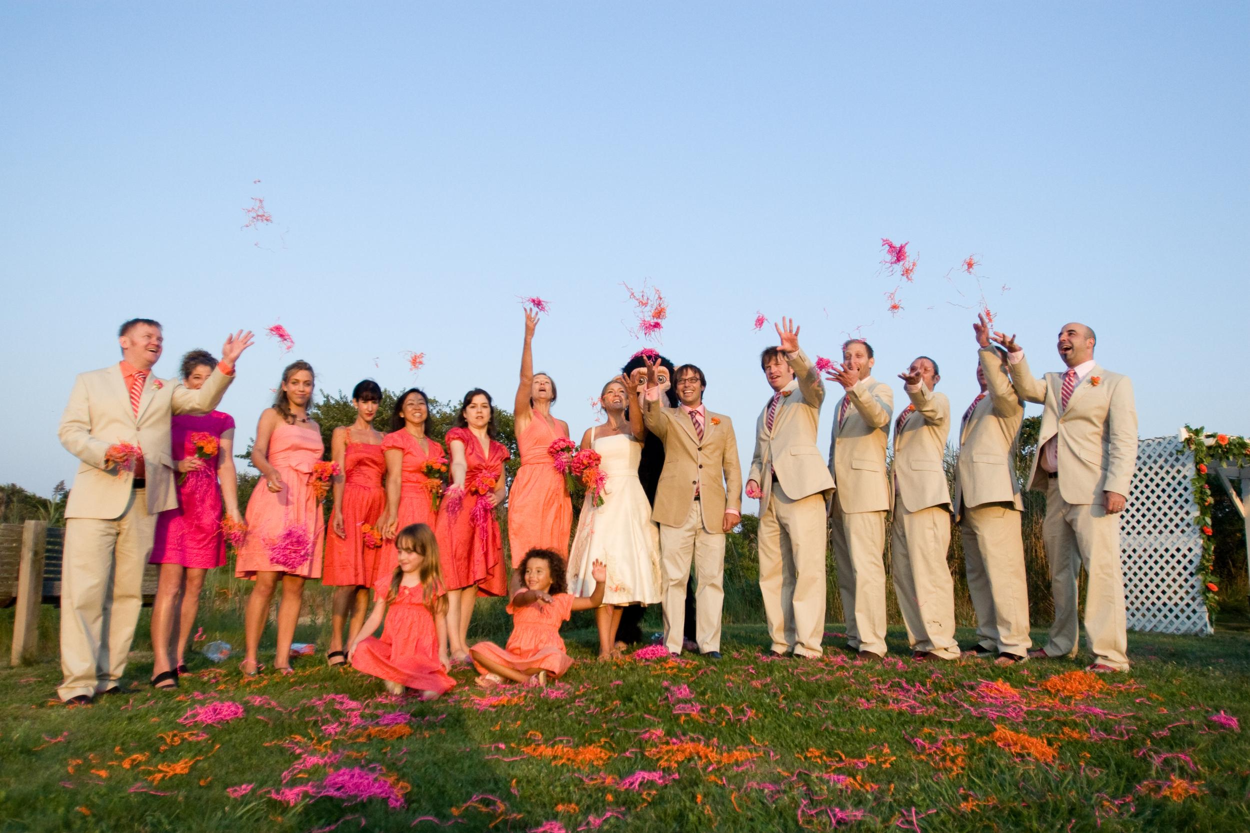 Our Montauk wedding