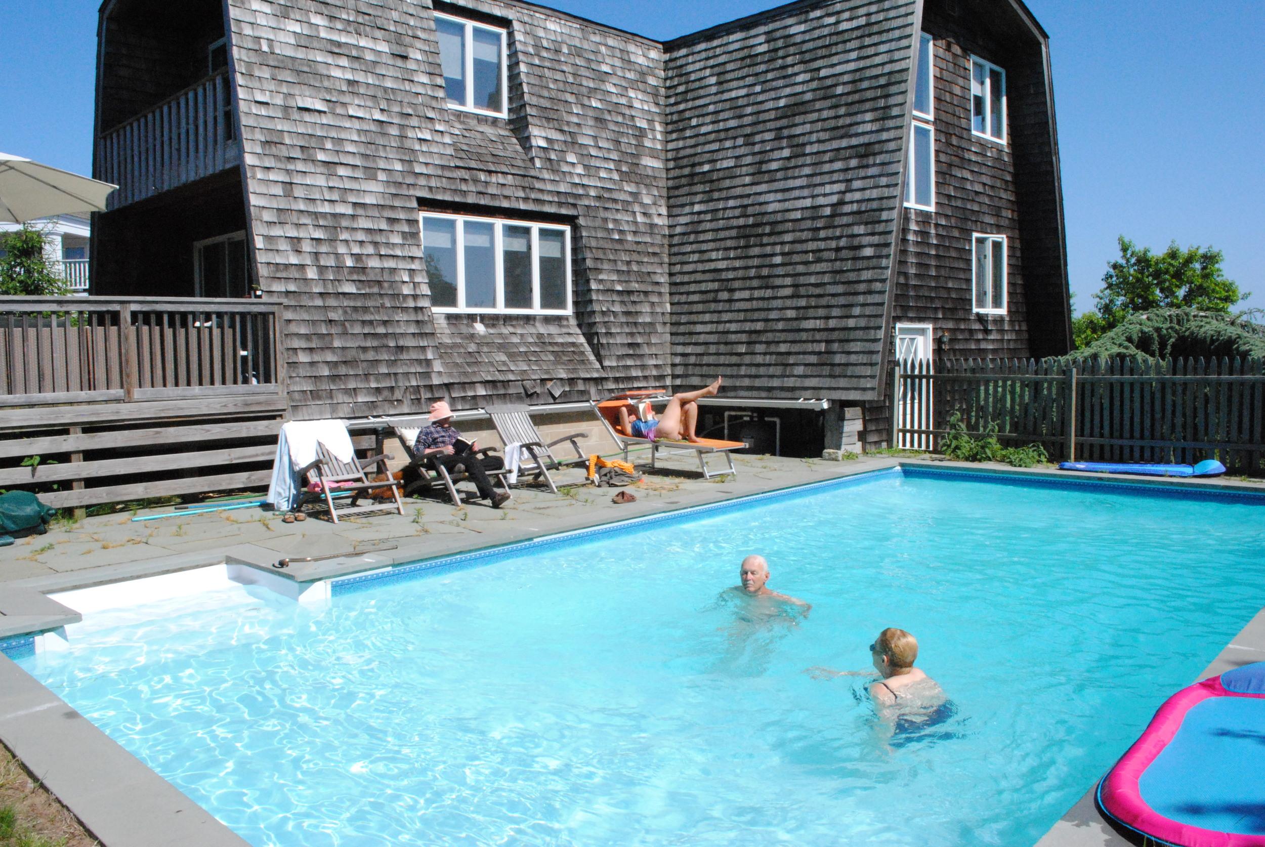 Grandparents Pool Time