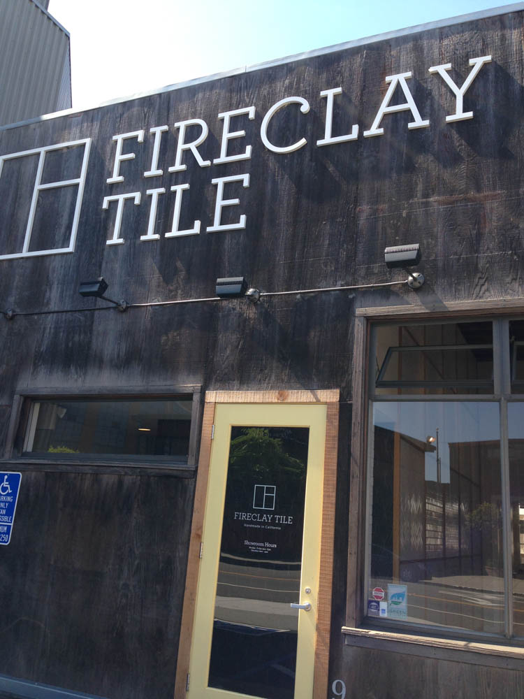 Fireclay Tile San Francisco Showroom