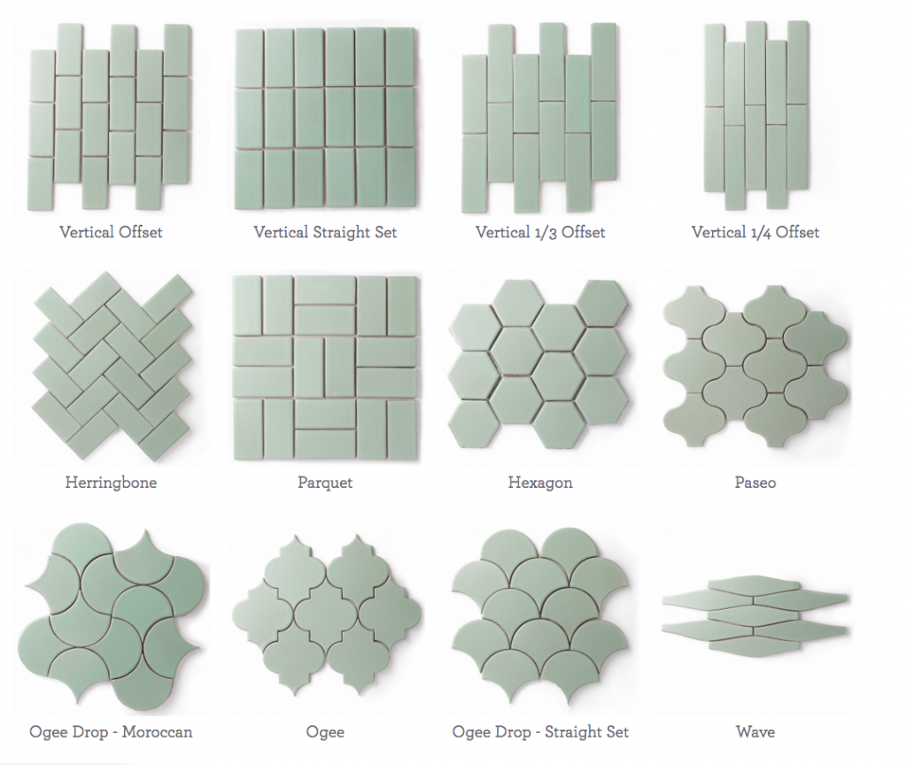 Fireclay patterns
