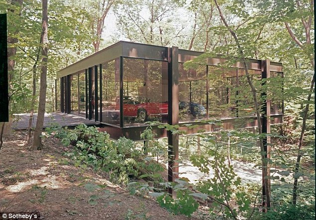 The Ferris Bueller home that staged a 1963 Ferrari Modena Spyder crashing through the window.