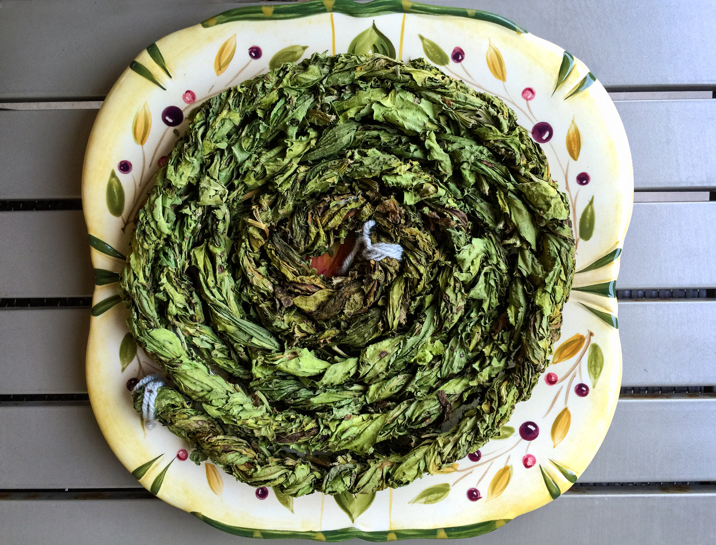 Dried Sorrel (Aveluk) Wreath
