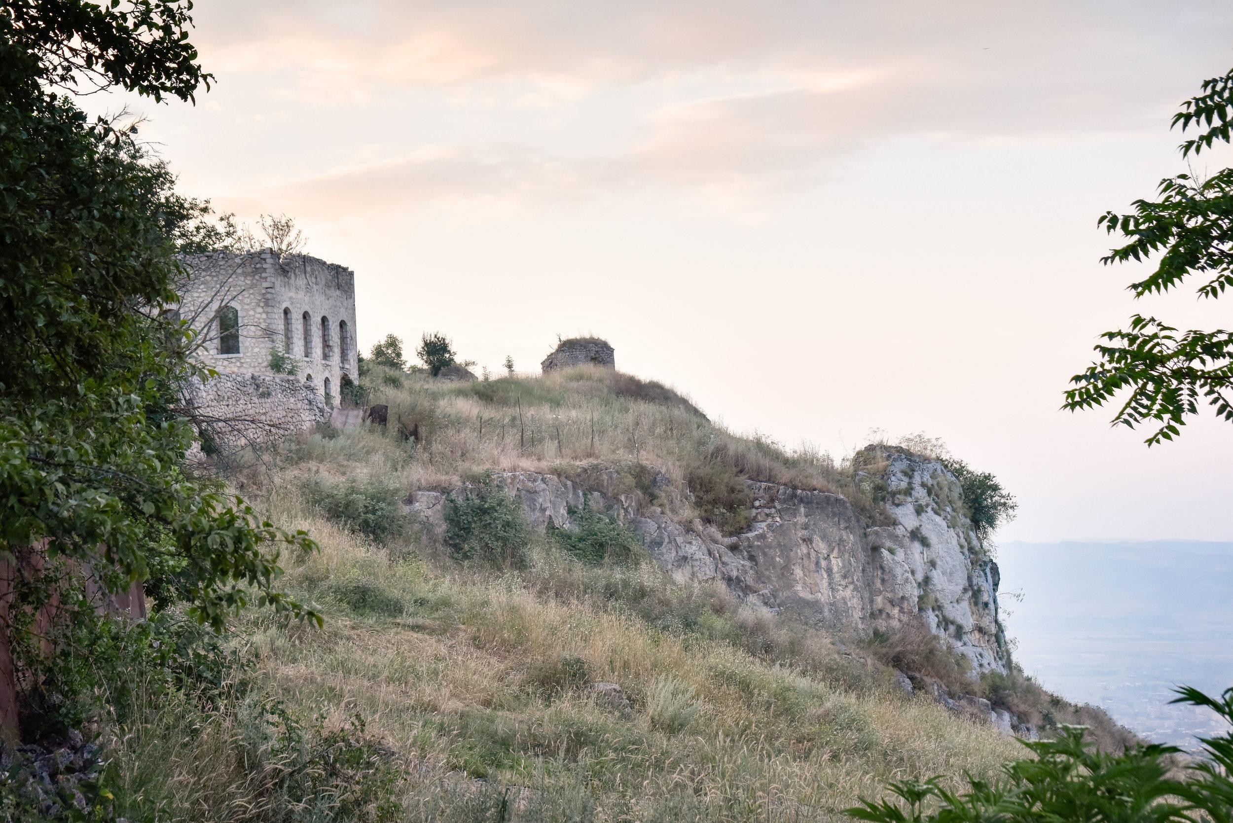 Sunset on Shushi fortress