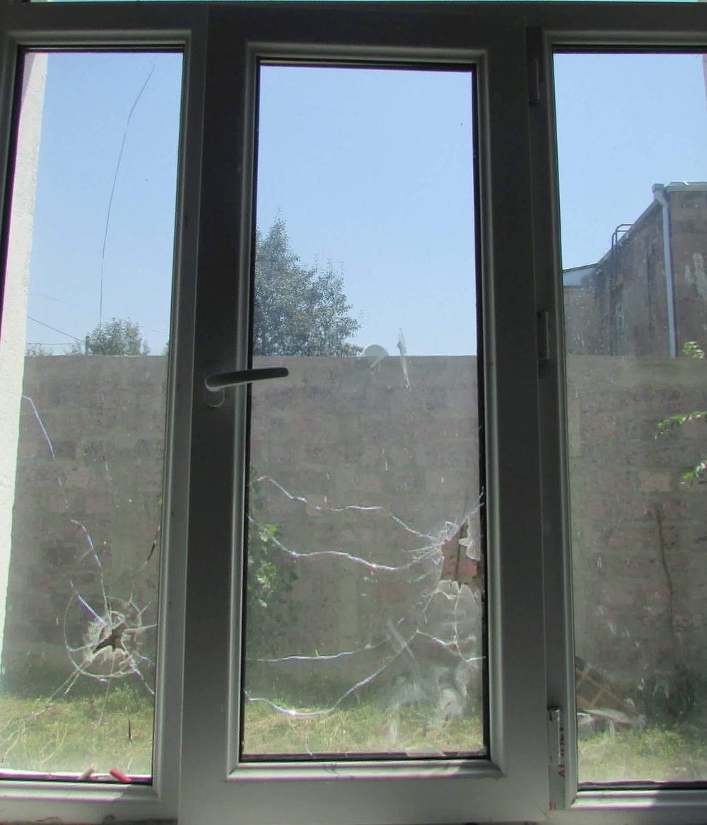 A window at the kindergarten. Photo by Hexine Gharabaghtsyan