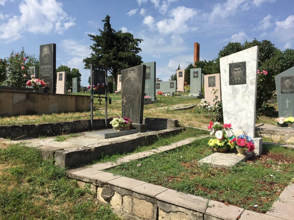 Cemetery of the Soldiers of Artsakh's War for Independence