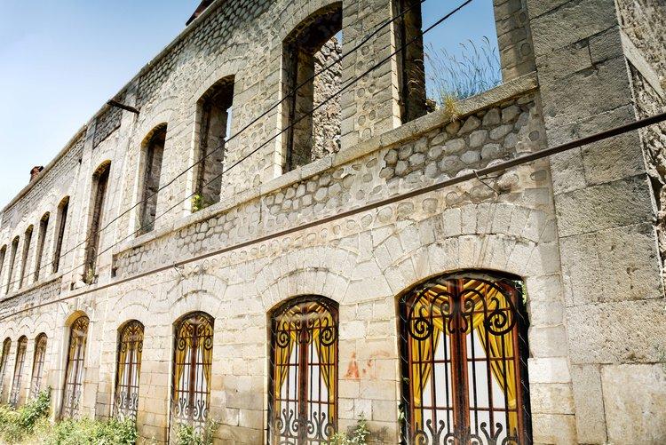 Shushi's historic buildings await restoration
