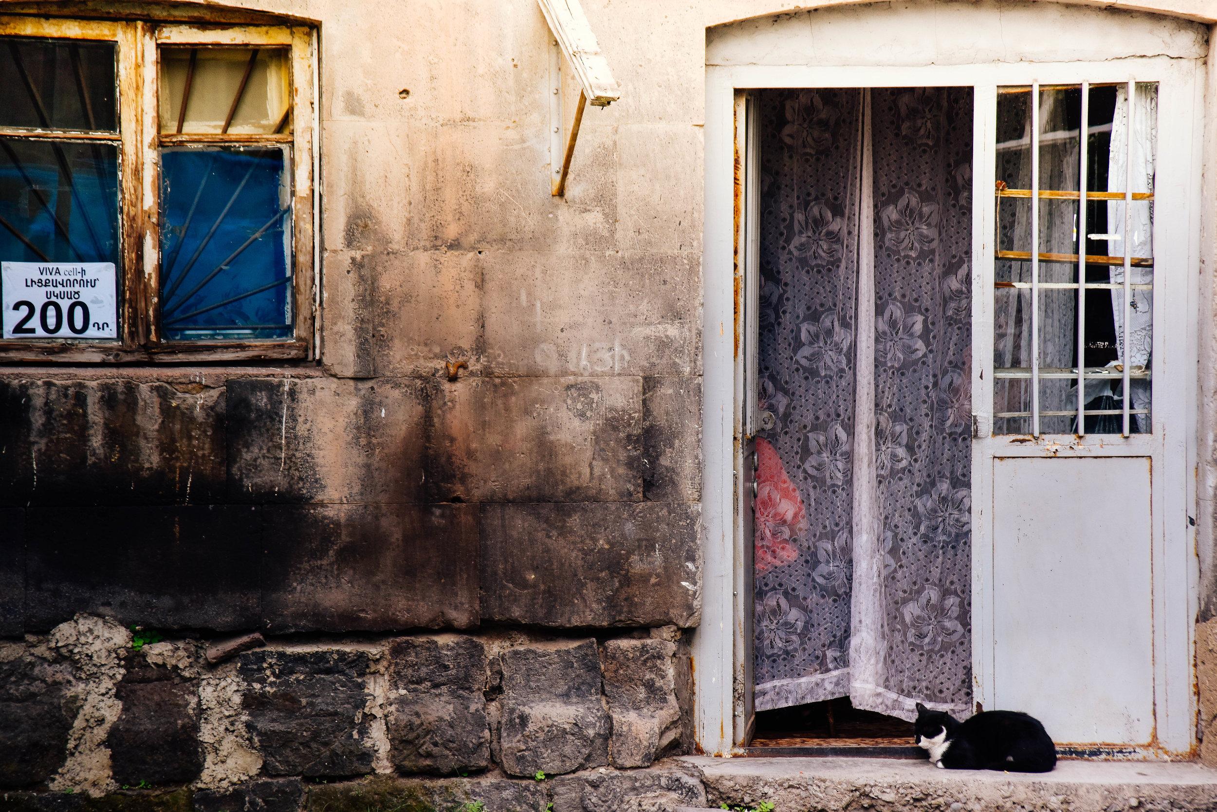Lazy afternoon, old Gyumri