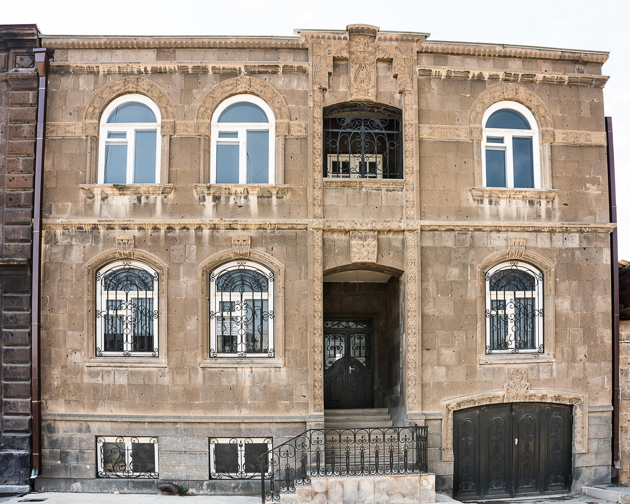 Ornate Old Gyumri house