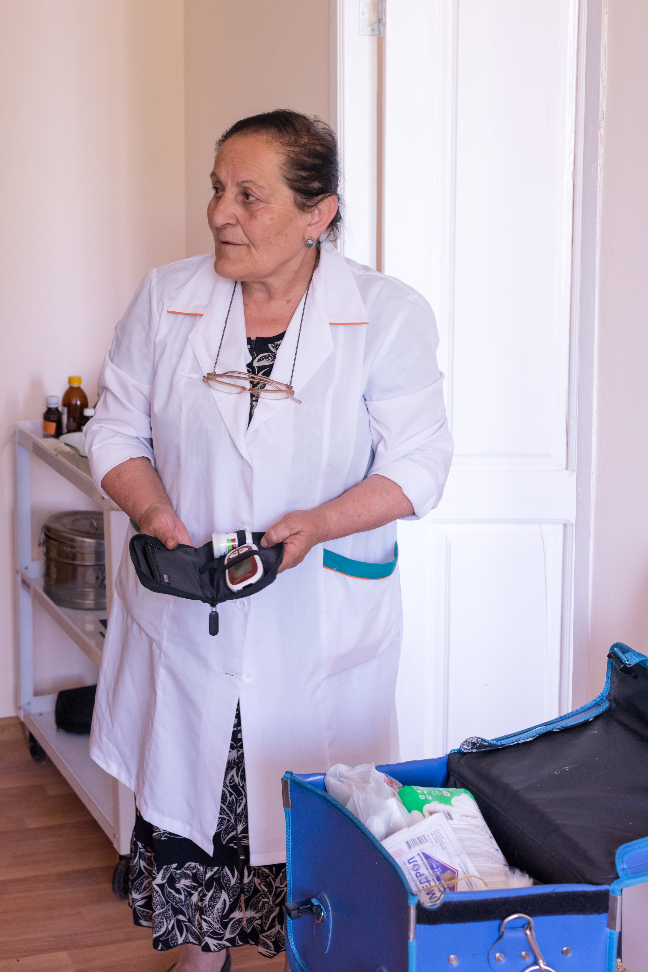 Chinchin's Nurse Svetlana shows us the clinic that FAR supports, explaining the difference it's made in the lives of residents.