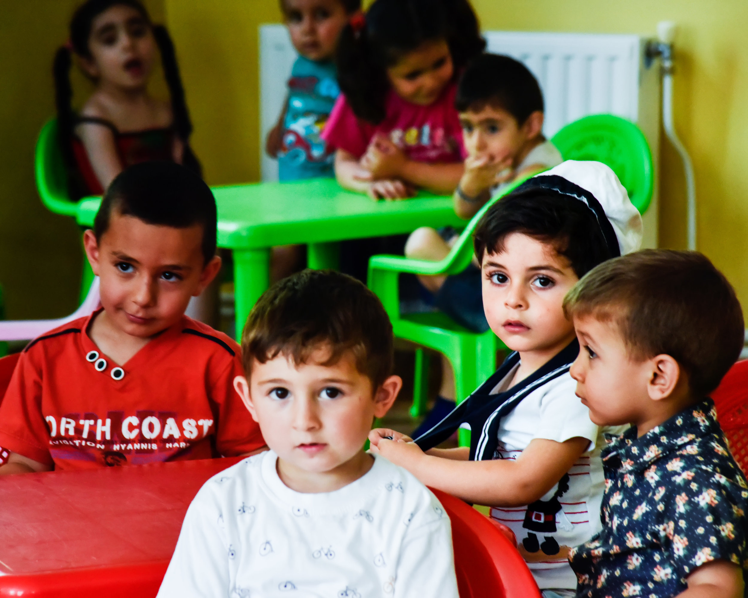 The kindergarten in Aygepar, once half unusable due to damage from Azerbaijani terrorist attacks, has been renovated by FAR.